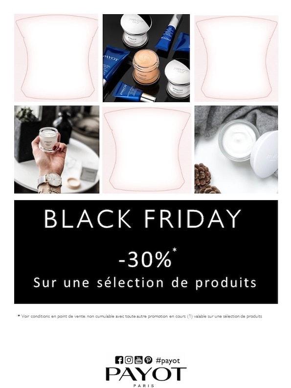 offre Black Friday produits Payot La Douce Heure