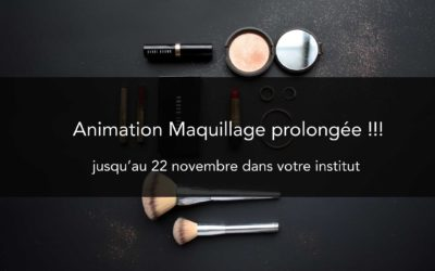 Animation Maquillage prolongée !!!