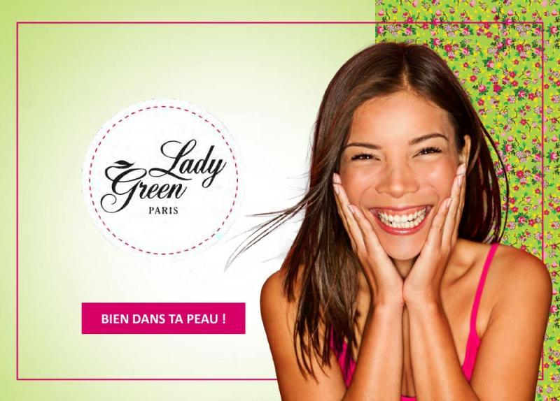 lady green la marque cosmétique bio pour les jeunes filles a nantes