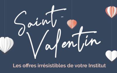 Nos offres irrésistibles pour la Saint-Valentin