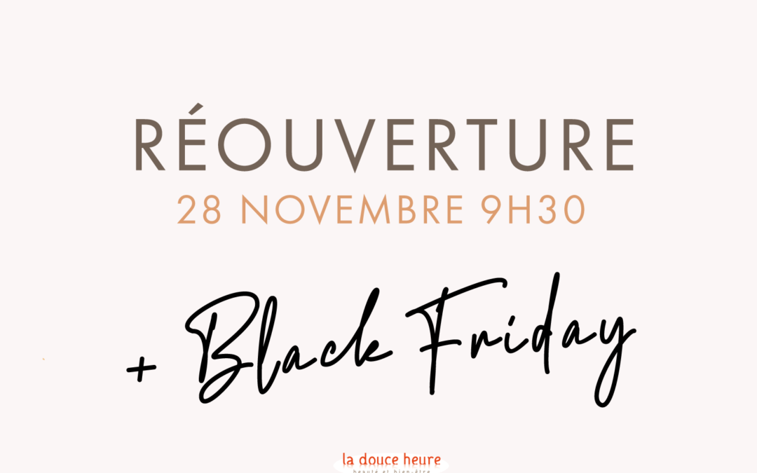Nos offres du BLACK FRIDAY